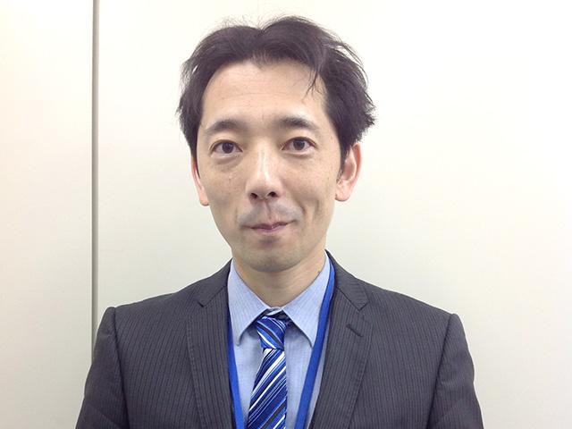 横塚講師の写真