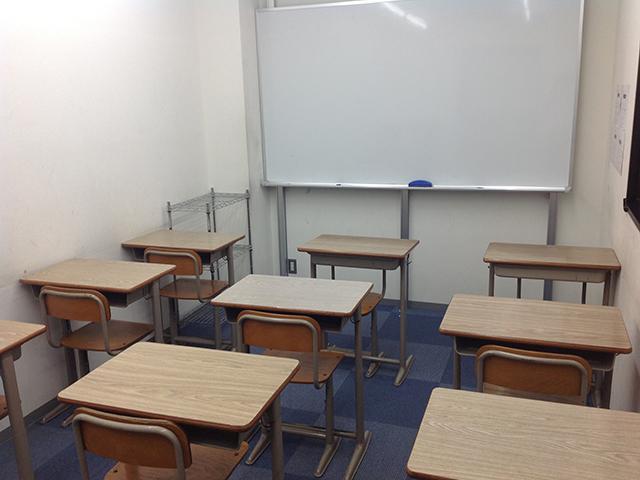 1番教室の写真です 1クラスは10名程度です