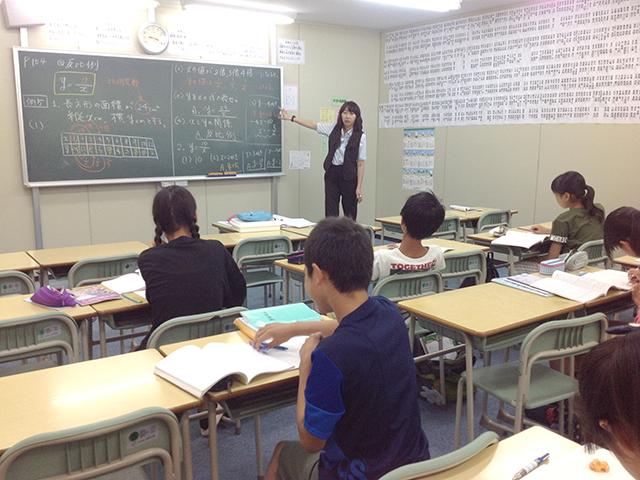 授業の様子(数学)