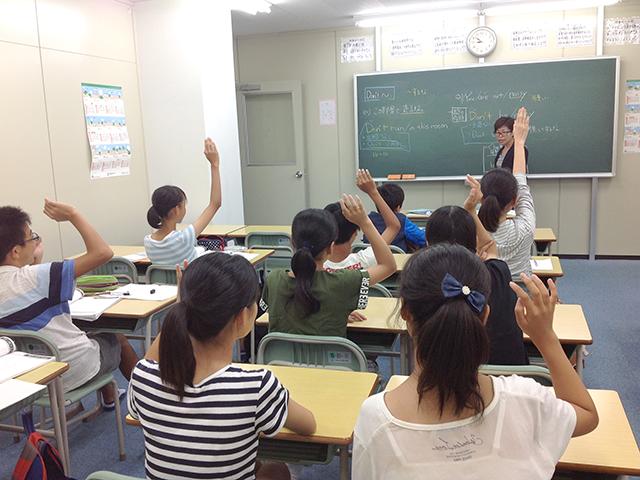 授業の様子(英語)
