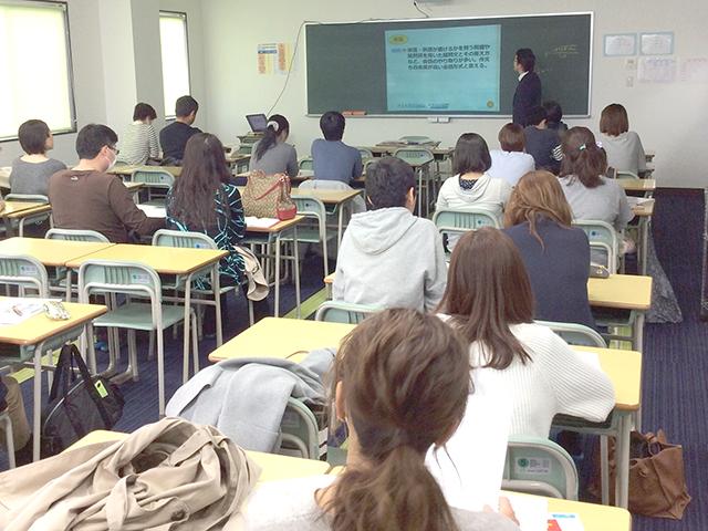 高校入試報告会を開催しました