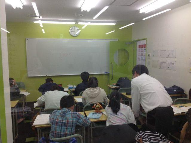 授業風景。みんな頑張っています!