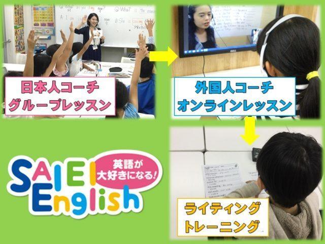 小学生英語 SAIEI English ONLINE9月の無料体験レッスン受付中