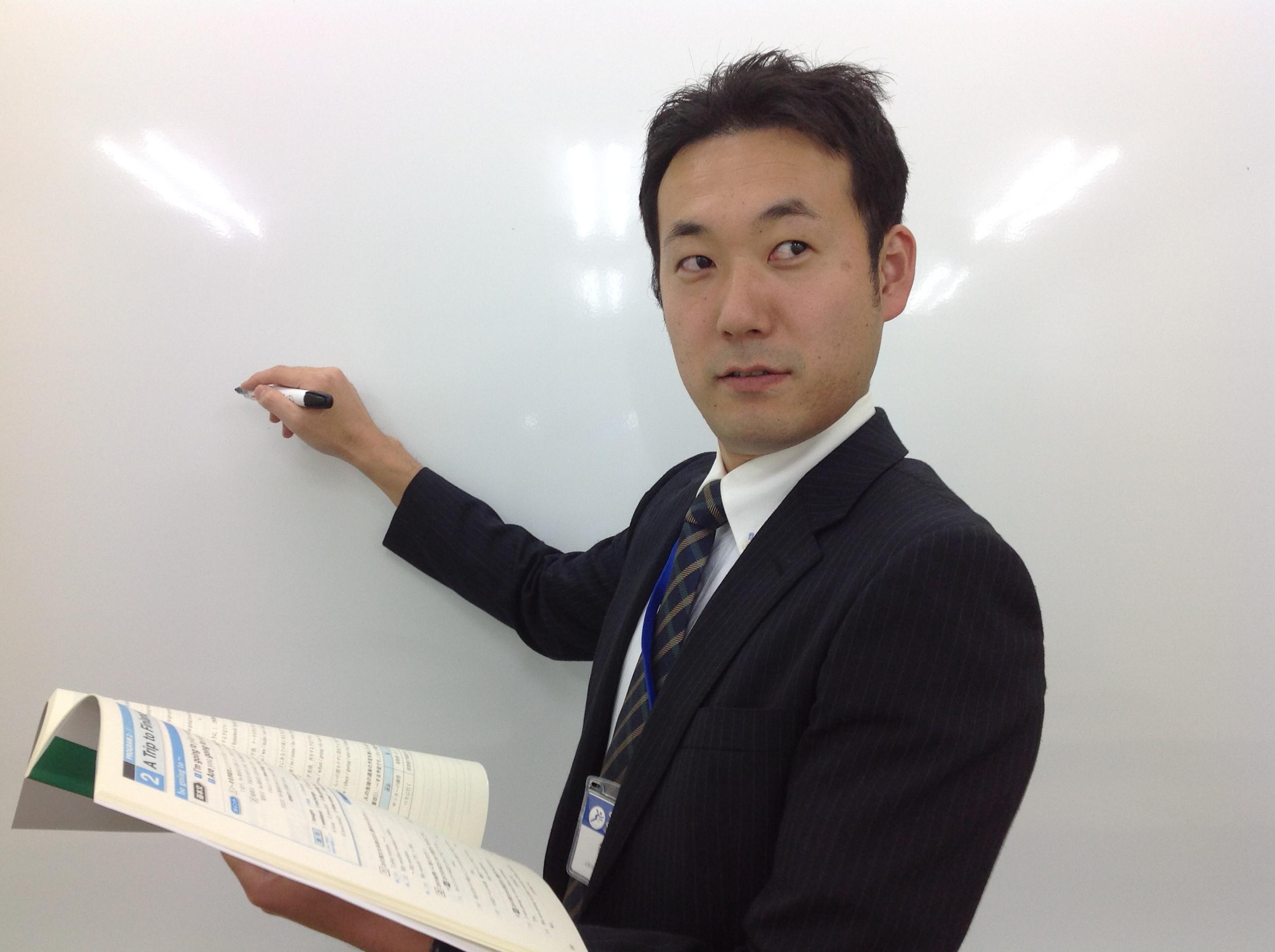 英語担当の鈴木です