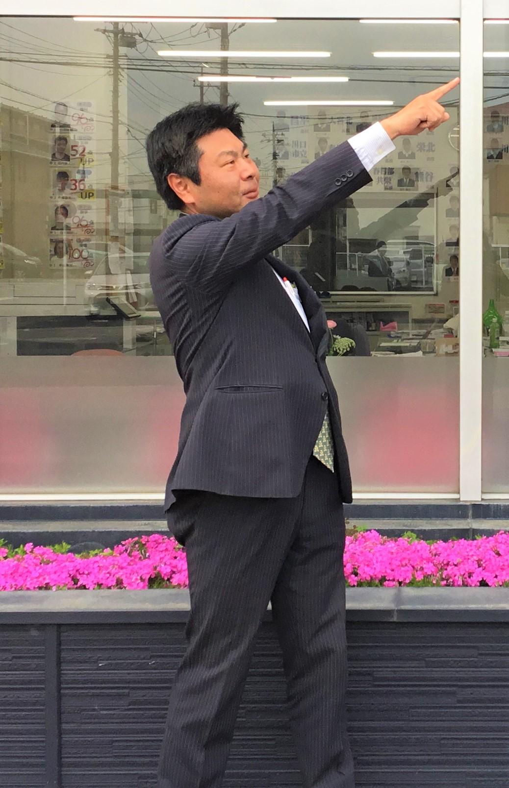 竹下講師(国語・社会担当)