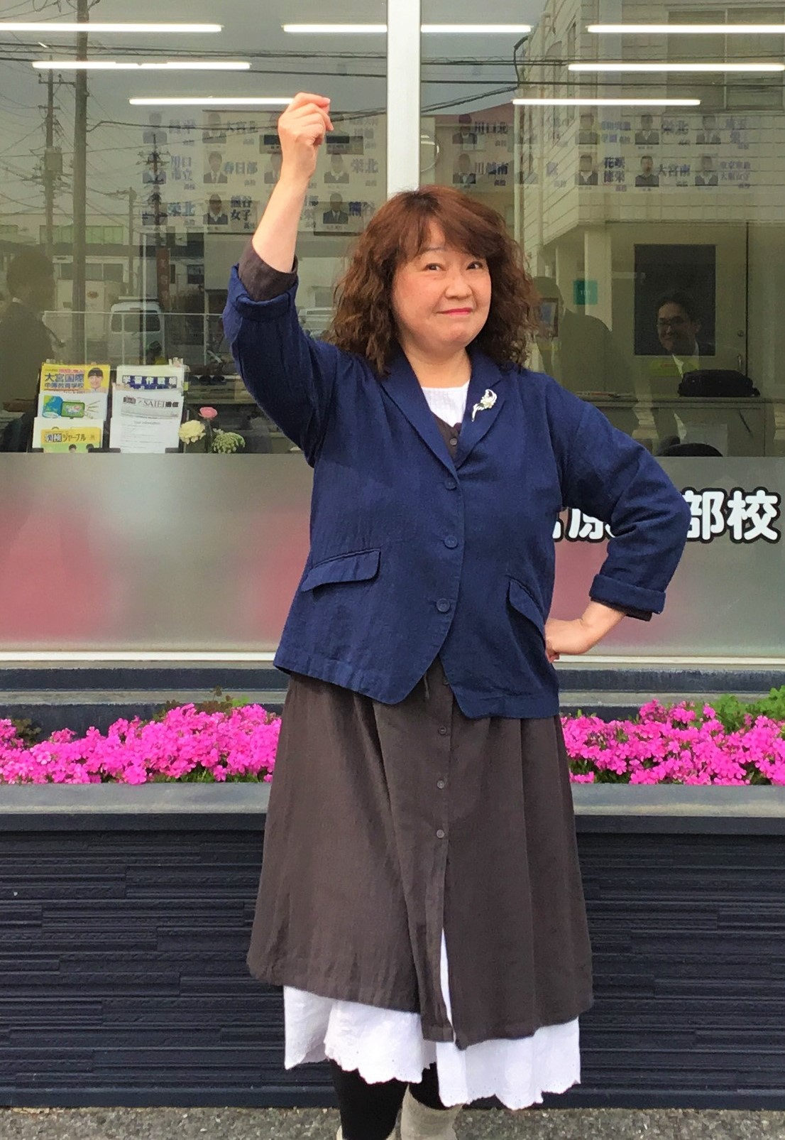 大野講師(英語担当)