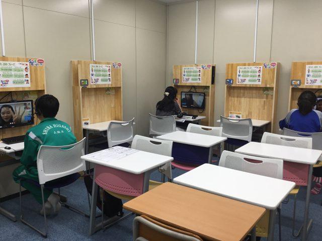 「SAIEI English Online(オンライン英会話)」の授業は生徒の話す英語がずっと飛び交っています