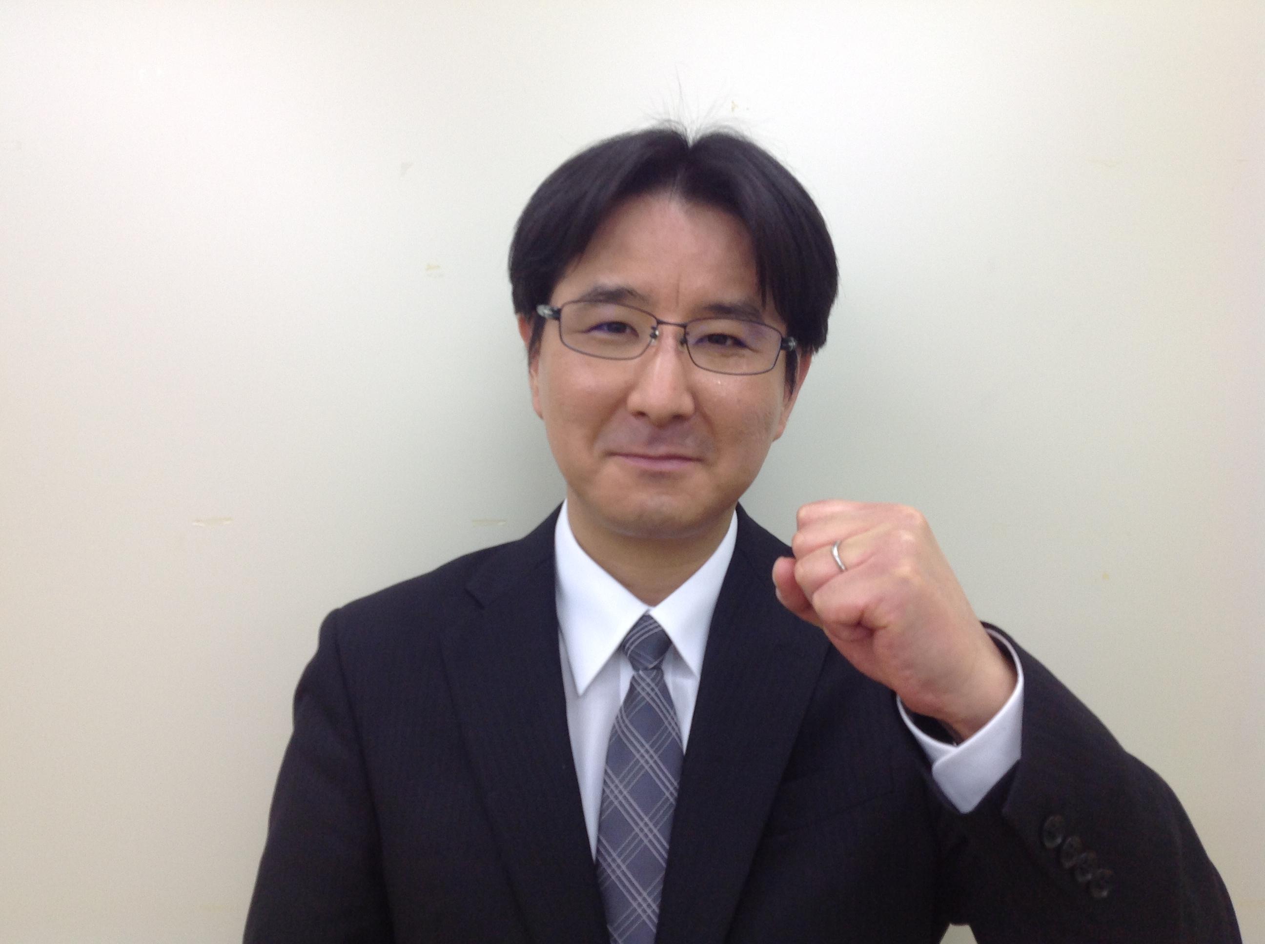サイエイスクール北与野校国語・社会担当 中村純(なかむらあつし)先生